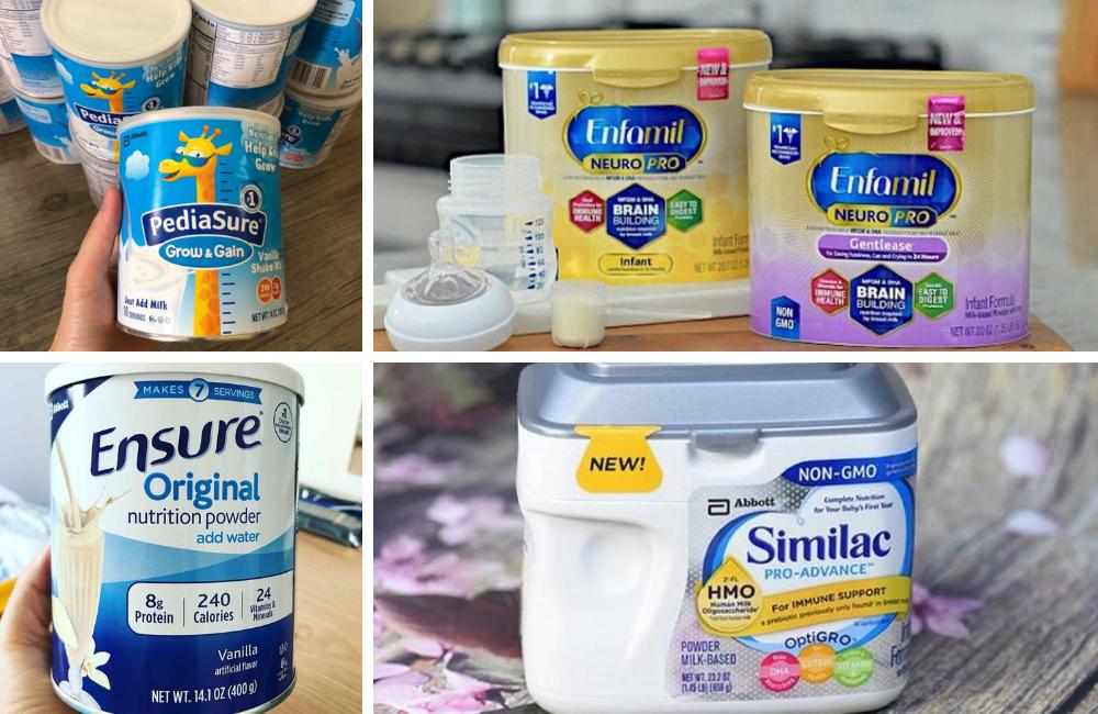 Những loại sữa bột của Mỹ được ưa chuộng nhất Việt Nam hiện nay